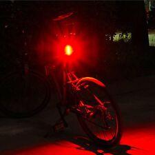 100LM USB Wiederaufladbar Fahrrad Bike LED Rücklicht Lampe 4-Modi Scheinwerfer