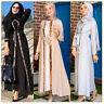 Sequins Abaya Kimono Open Kaftan Dubai Dress Women Muslim Long Party Gown Jilbab