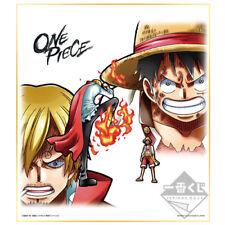ONE PIECE - Luffy & Sanji Shikishi Ichiban Kuji Battle Selection Banpresto