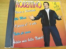 ROBERTINO O SOLE MIO  CD MINT-  DV MORE