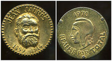 jeton  total  1970  JEAN JAURES  1859 - 1914  ( bis )