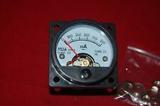 1PC DC 0-500MA Analog Ammeter Panel AMP Current Meter SO45 directly Connect