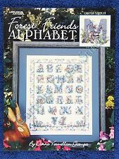 Cross Stitch Pattern Forest Friends Alphabet Chart