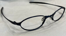 Authentic Oakley O1 130 Midnight 11-601 48[]19 Eyeglasses Frames Only