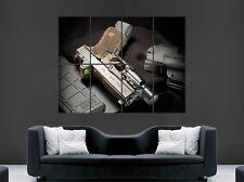 Glock 19 semi automatique gun pistolet poster arme art mural large