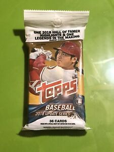 2018 Topps Update Factory Sealed Fat Pack - Juan Soto Ronald Acuna Rookies Qty.