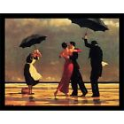 FRAMED The Singing Butler by Jack Vettriano 26.5x21.5 Art Print Romantic