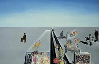 Framed Print - Salvador Dali The First Days of Spring 1929 (Replica Picture Art)