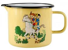 "Pippi Longstocking MUURLA Enamel jug  1.3 L ""On Horseback"" *NEW"