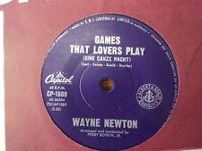 "Wayne Newton ""Games That Lovers Play"" Very Rare Oz 7"""