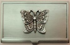 Home ::  Desk Accessories ::  Business Cardholders ::  Butterfly Pewter Business