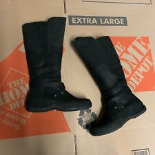 The North Face Womens Camryn II Mid Calf Boots Black Size 7.5