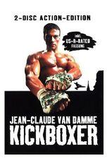 FSK18 Kickboxer 2-Disc Edition dvd NEU Der Karate Tiger 3,III, Van Damme, uncut