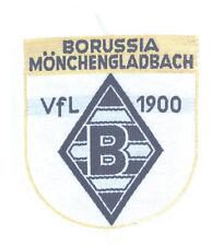 Borussia M'gladbach Aufnäher Logo - BMG - VfL - Patch Wappen Fussball Goldfaden