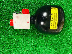 John Deere AT397715 Hydraulic Accumulator, Nitrogen Compressed