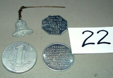 1930s FOOD PRODUCT TOKEN COINS BELL'S HONEY, BEECH-NUT MACARONI, & MORE LOT#22