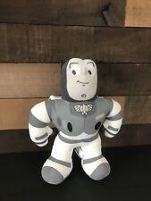 "Toy Story Buzz Light Year 12"" Gray  And White Plush Stuffed Animal Rare"