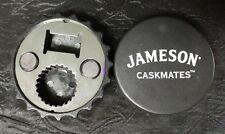 Set of 2 Jameson Caskmates magnetic bottle opener for screw off or pop top NEW
