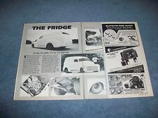 "1948 Chevy Panel Truck Vintage Custom Pro Street Article ""The Fridge"""