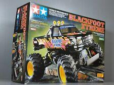 Rare New Tamiya 1/10 R/C Blackfoot Xtreme 2WD 58312 with ESC TEU105BK Black Foot