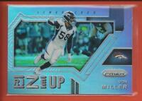 Von Miller  2017 Panini Prizm Rize Up PRIZMS Card # 7 Denver Broncos Football