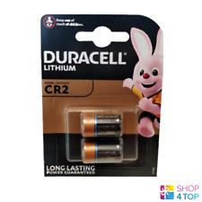 2 Duracell CR2 baterías de litio 3V ELCR 2 CR17355 1CR2 DLCR 2 Exp 2024 2BL Nuevo