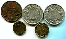 5 x tokens n01