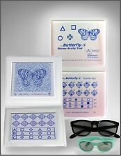 Stereo ButterFly Acuity Test with Adult Child Goggles