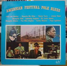 AMERICAN FESTIVAL FOLK BLUES COMPIL' BLUES DOUBLE FRENCH LP FESTIVAL