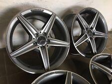4 Originale AMG Cerchioni 18 Pollici Mercedes Classe-C W205 S205 W204 W203 W207