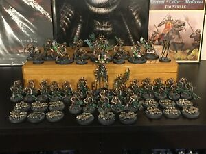 Pro Painted Warhammer 40K NECRON ARMY Indomitus READY TO PLAY 60 figures GW Z20