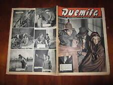 """FOTOROMANZO """"DUEMILA"""" SETTIMANALE DI AVVENTURE NUMERO 42 DEL 21 OTTOBRE 1951"""