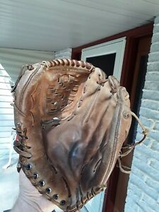 Vintage Baseball Glove Rawlings HoH Gold Glove used