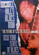 MICHAEL HALL, NEW YORK STATE BLUES POSTER (J5)