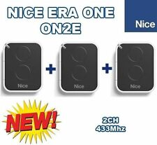 3 X Nice ON2E, 3pc's of Nice ERA ONE 2-ch remote controls, New version of ON2