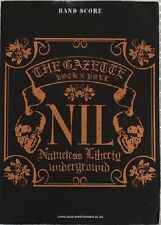 The Gazette - NIL Band Score - Japan Visual Kei