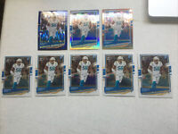 2020 Optic Football Kenneth Murray Rookie Holo #116 (7 Card Lot) Chargers