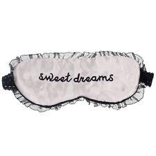 Cute Lace Sleeping Eye Mask Blindfold Shade Sleep Aid Satin PK Black Friday
