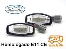 PLAFONES LED MATRICULA HONDA CIVIC ACCORD HOMOLOGADO E11 CE LUCES LUZ ENVIO 24H