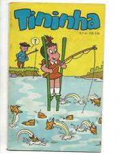 Tininha #61 1972  Brazilian Little Audrey Fishing On Stilts Cover!