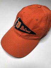 f08958b72bff4 Detroit Tigers Hat Rare Nike Cooperstown Collection RN  56323 Orange Strap  Back