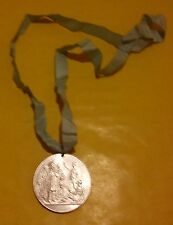 CHURCH MISSIONARY SOCIETY CENTENARY MEDAL 1799 - 1899 BY A WYON WITH RIBBON VGC