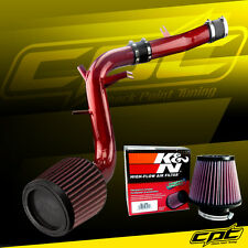 13-16 Veloster Turbo 1.6L 4cyl Red Cold Air Intake + K&N Air Filter