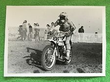 Vintage Gettit Wolsink MOTOCROSS B&W 7x5 PHOTOGRAPH Rare Picture & Free GIFT!