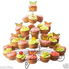 5 Tier Cupcake Stand Holder Tower Wedding Baby Shower Dessert Display Favors