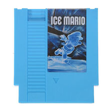 Ice Mario SMB1 Hack 72 Pin 8 Bit Game Card Cartridge for NES Nintendo