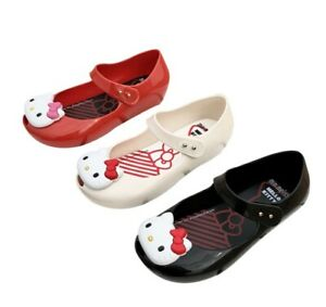 Mini Melissa Cartoon Cat Sandals Toddler Kid Girls Jelly Children's Shoes US6-11