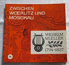 Zwischen Wörlitz und Mosigkau, Wilhelm Mueller 1794 - 1827