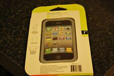 Iessentials Iph4-Sc-Cl iPhone(R) 4/4S Silicone Skin Case ~ Clear