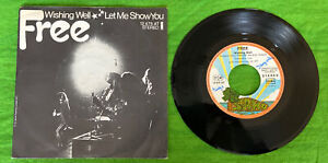 """Single 7"""" Free Wishing Well / Let Me Show You"""